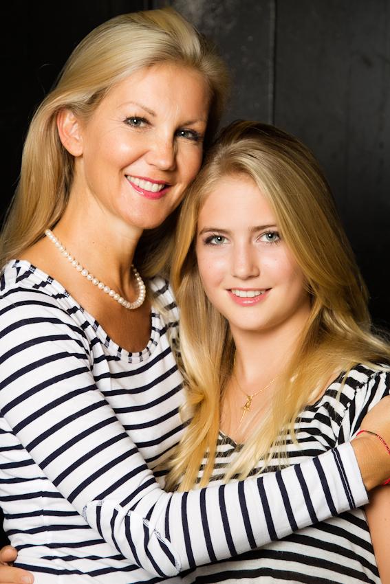 Mutter Und Tochter Rauchen Gemeinsam